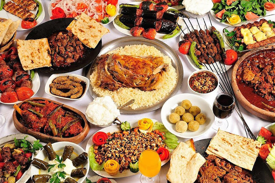 food from different cultures