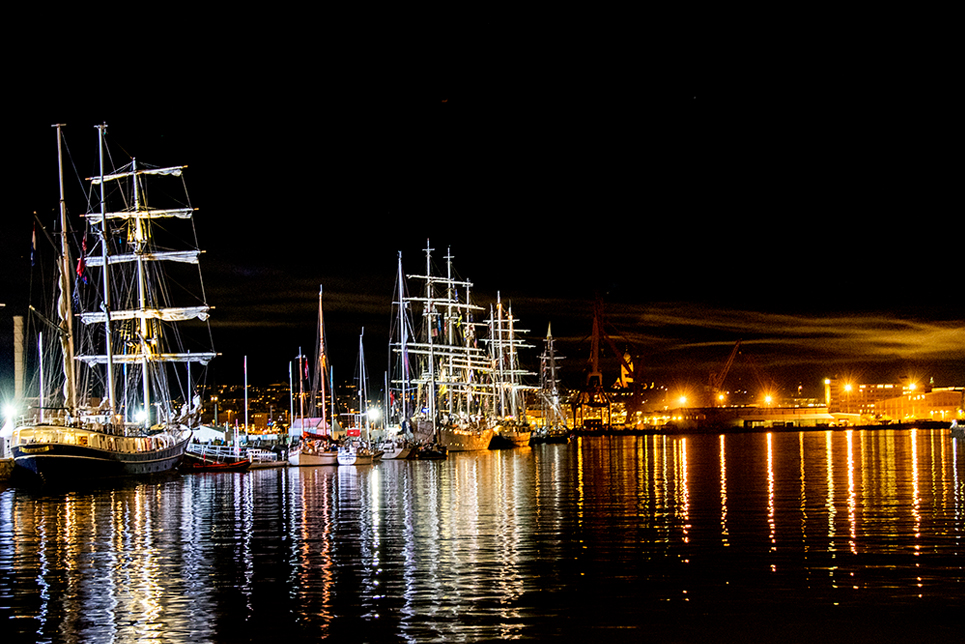 The spectacular fleet on the last night in Gothenburg