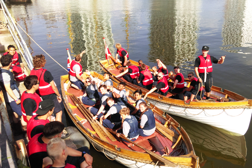 A rowing challenge in Antwerp