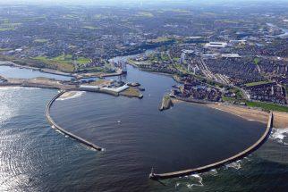 Aerial view of Sunderland