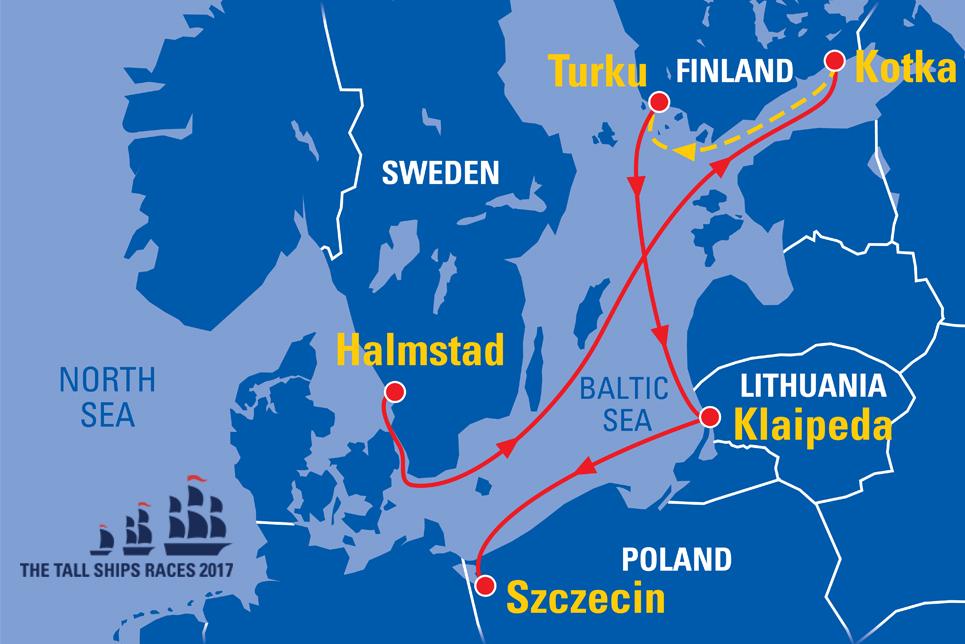 Klaipėda Lithuania Sail On Board - Klaipėda map