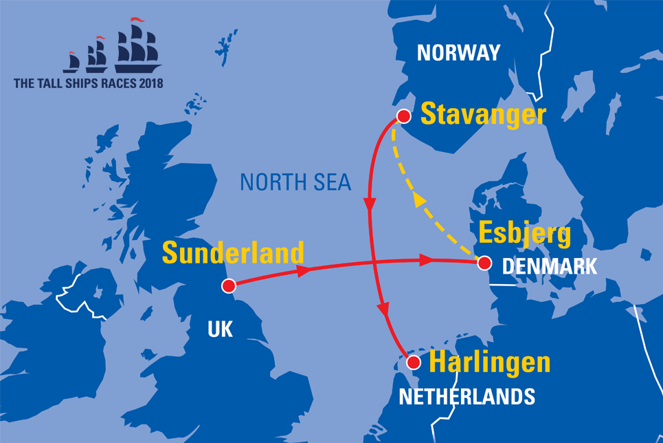 Stavanger Norway Sail On Board - Norway map stavanger