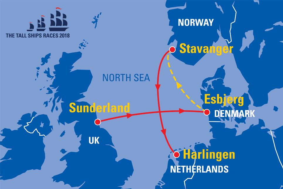 Stavanger Norway Sail On Board - Norway map stavanger