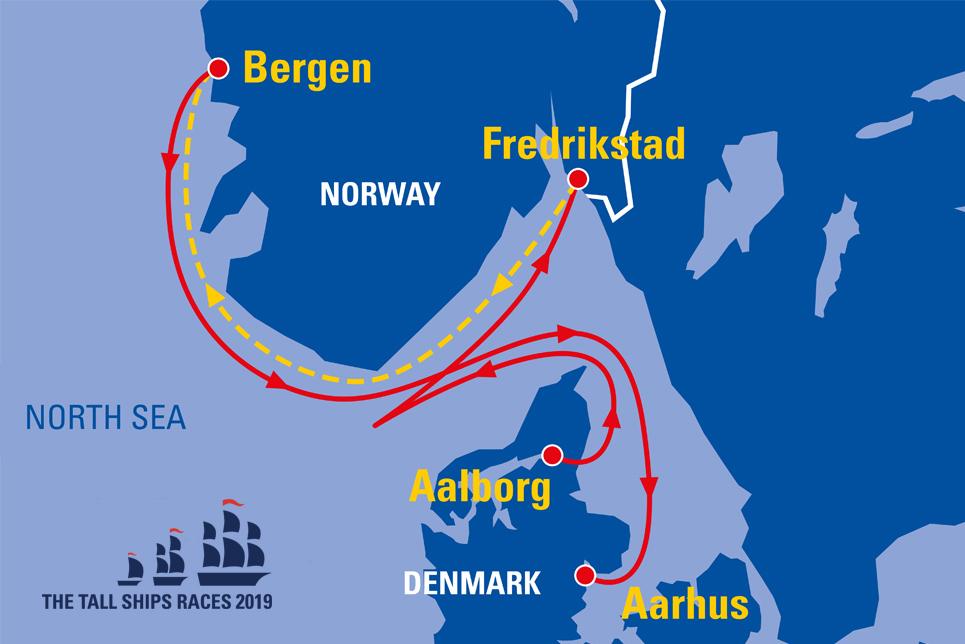 Bergen Norway Sail On Board - Norway map 2014