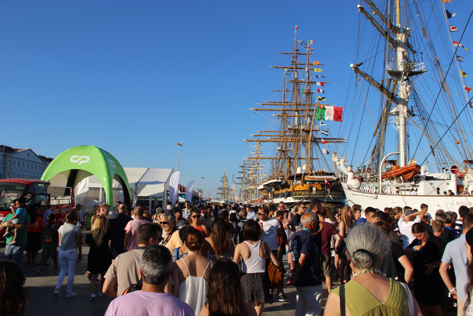 Visitors in Lisbon, Tall Ships Races 2016