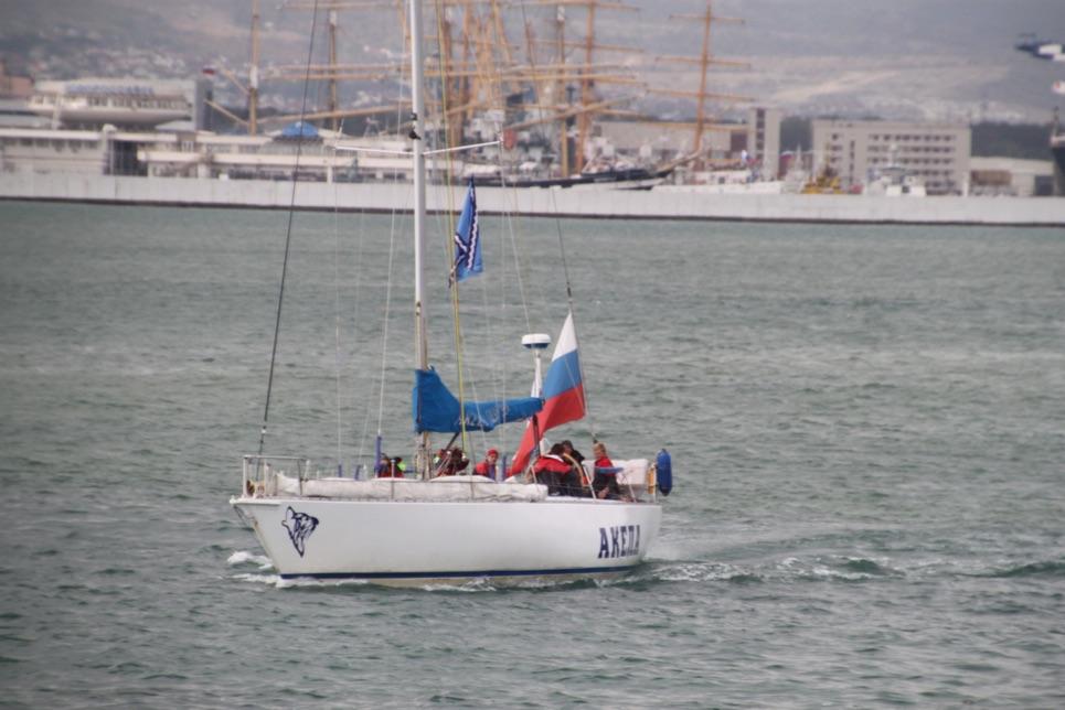 SCF Black Sea Regatta 2016, race 2 start