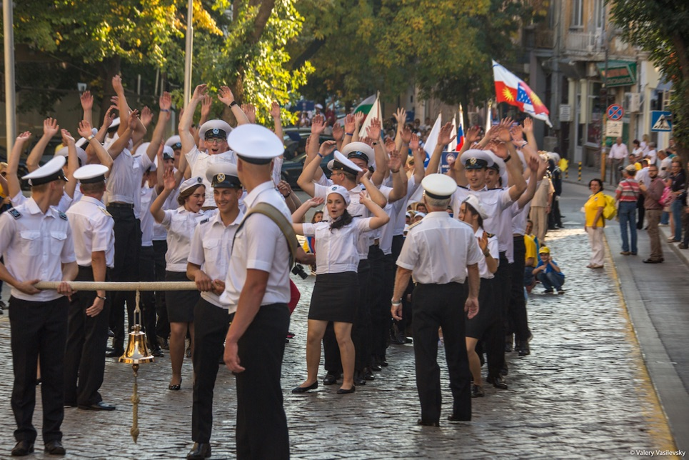 Crew Parade in Varna