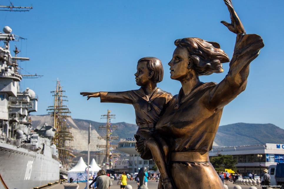 Novorossiysk welcomes the fleet