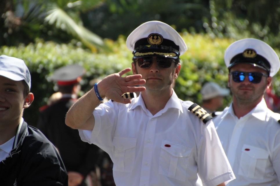 Adornate during the Crew Parade