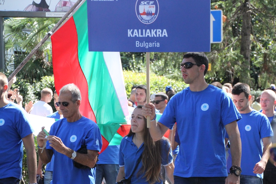 The crew members from Kaliakra