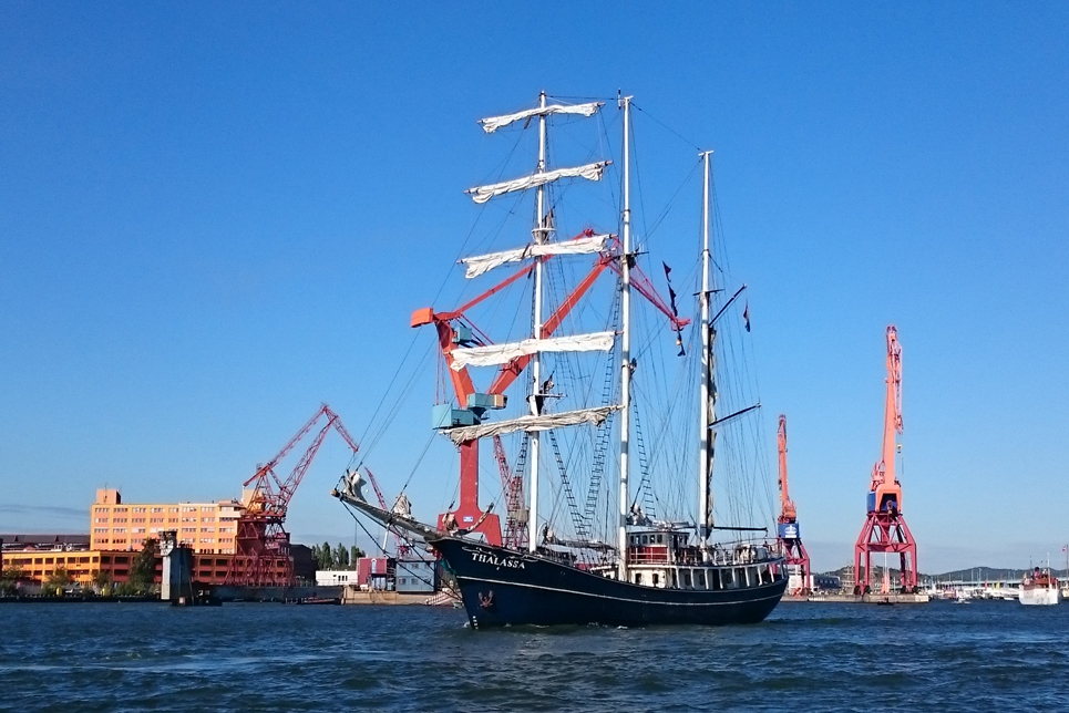 Thalassa in the Parade of Sail, Gothenburg