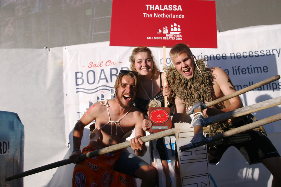 Thalassa at the Prize Giving Ceremony