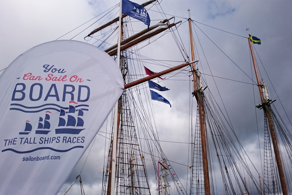 Visit the Sail On Board stand!
