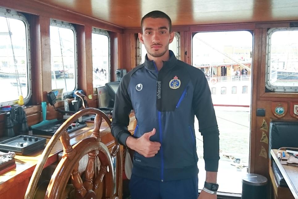 Mohammed Juma Salim Al Khatin, Royal Navy of Oman trainee
