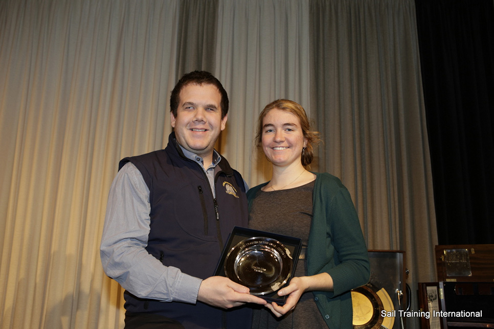 Sail Trainer of the Year (Professional, Under 25): Celina Diaz (Canada) (21)