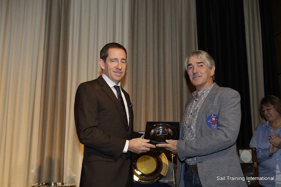 Sail Trainer of the Year (Professional, Over 25): Ulrich Komorowski, (Germany)