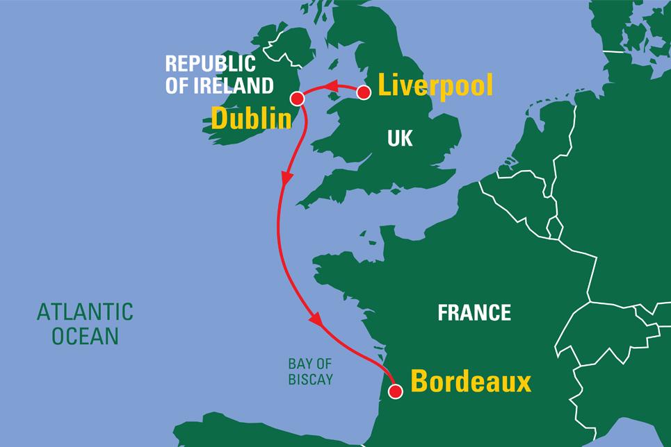 Biscay Tall Ships Regatta 2018 Map