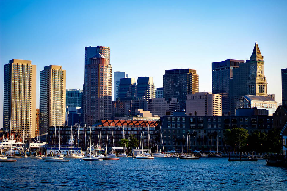 Boston's historic waterfront