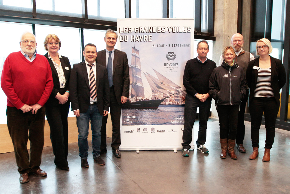 The team in Le Havre
