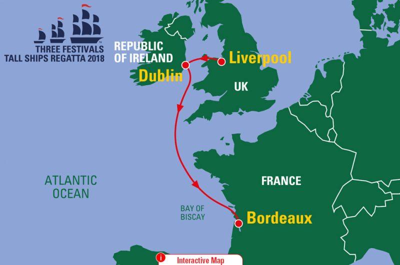 Three Festivals Tall Ships Regatta 2018 Interactive Map
