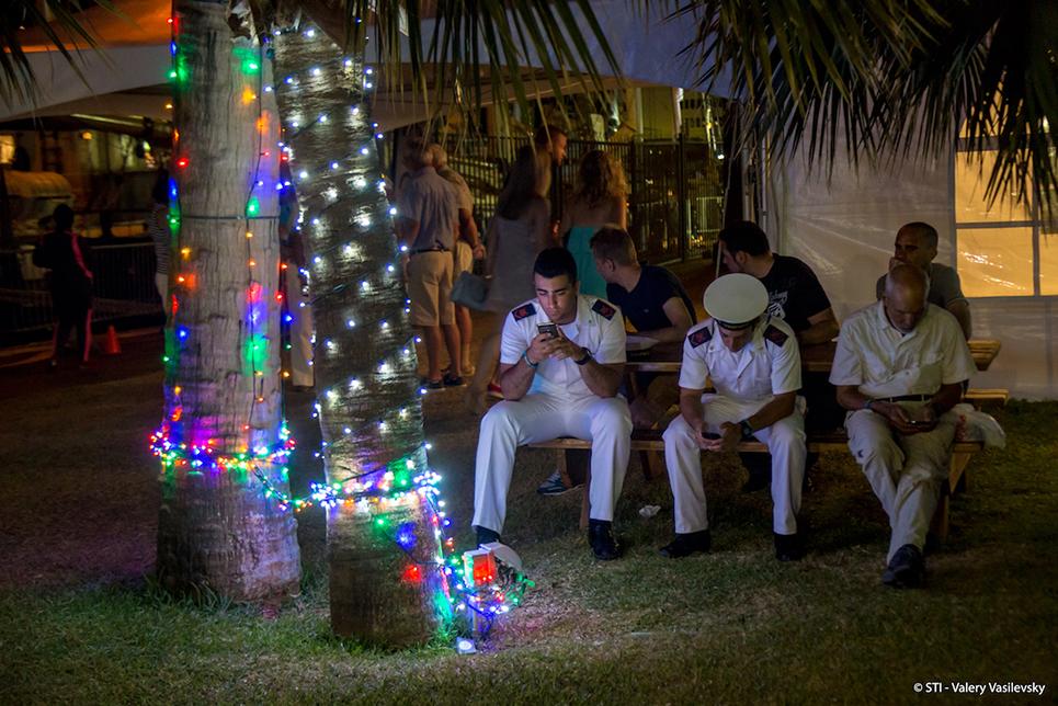 tall ships crew in bermuda