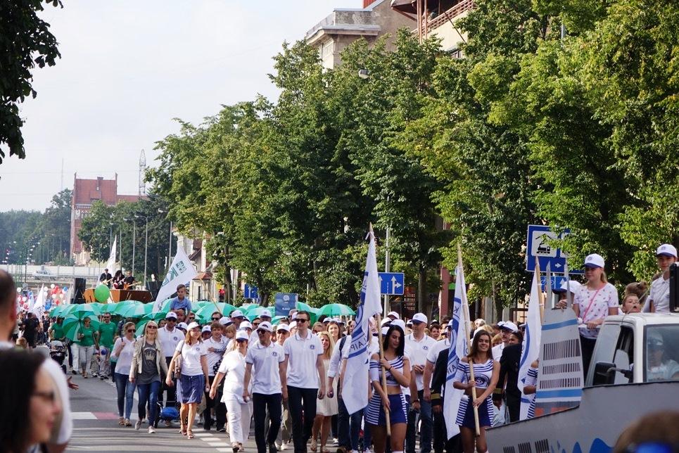 Klaipeda Sea Festival opening parade.