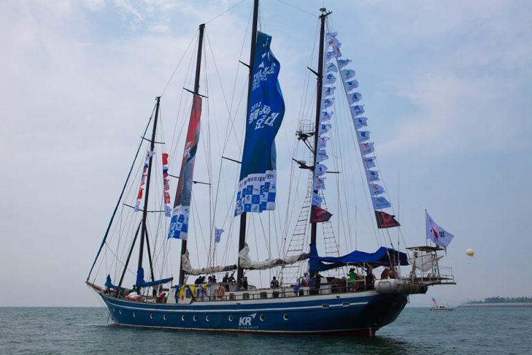 Tall Ship Koreana from South Korea