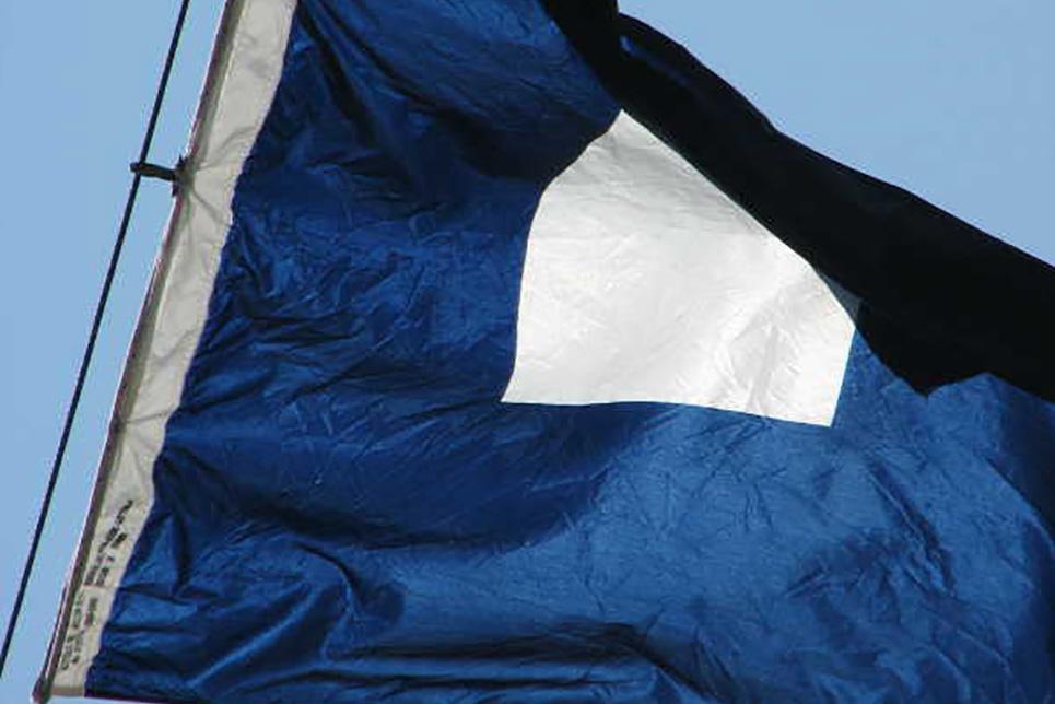 Blue Peter Flag
