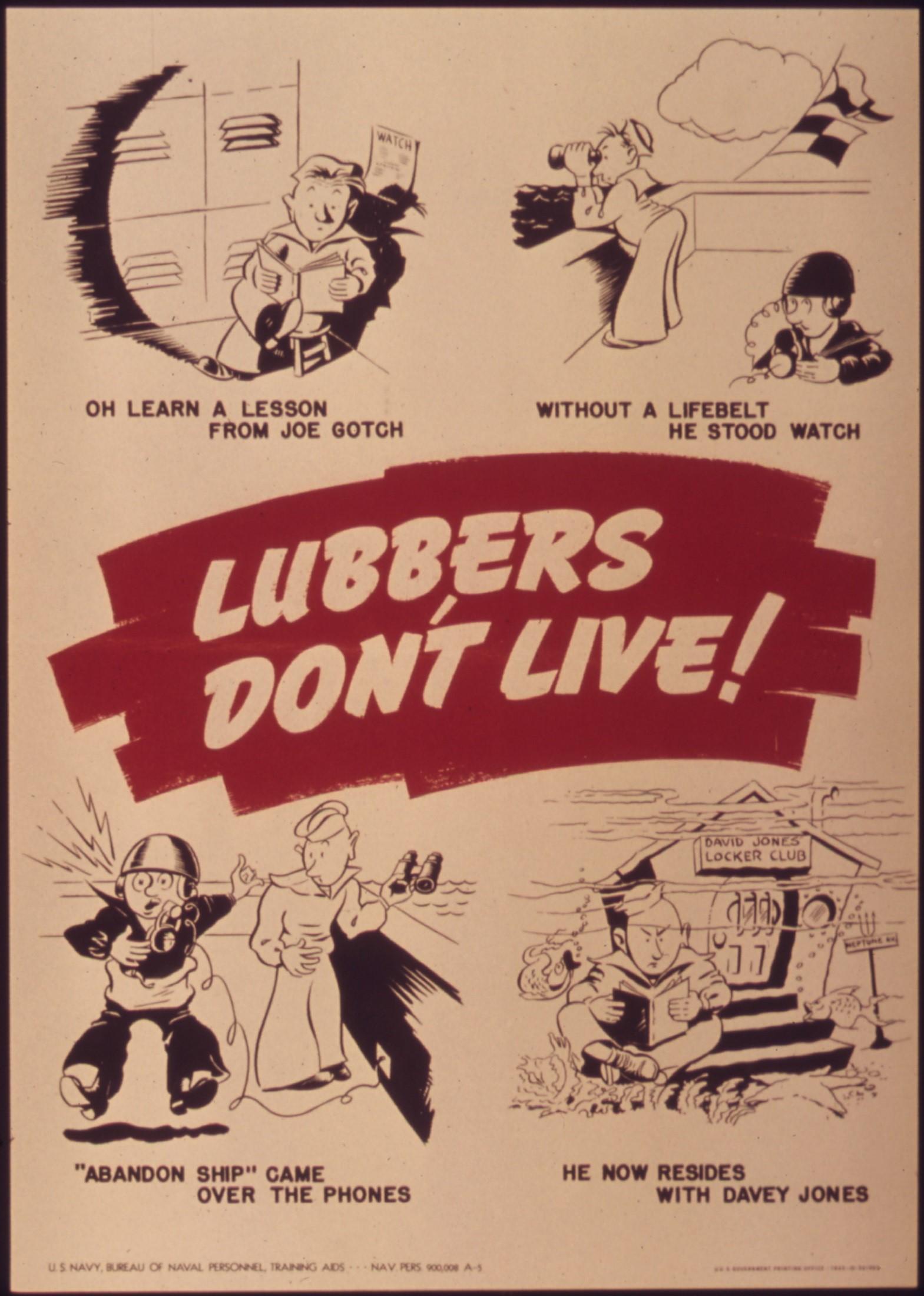 Davy Jones Locker Cartoon